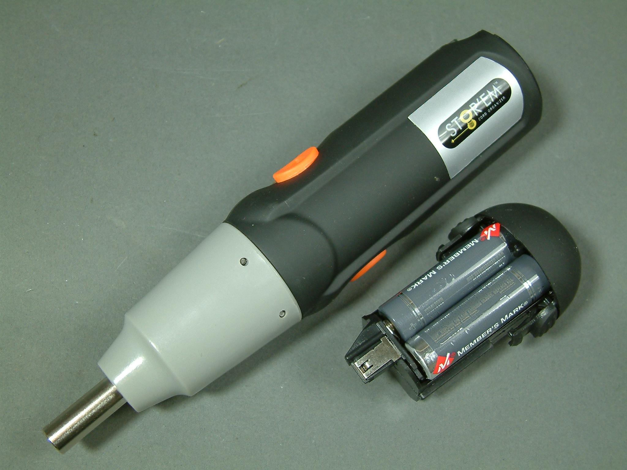 Kid Electric Car >> Cordless Electric Screw Driver 6 VDC uses standard AA's to power | Mavin the Webstore