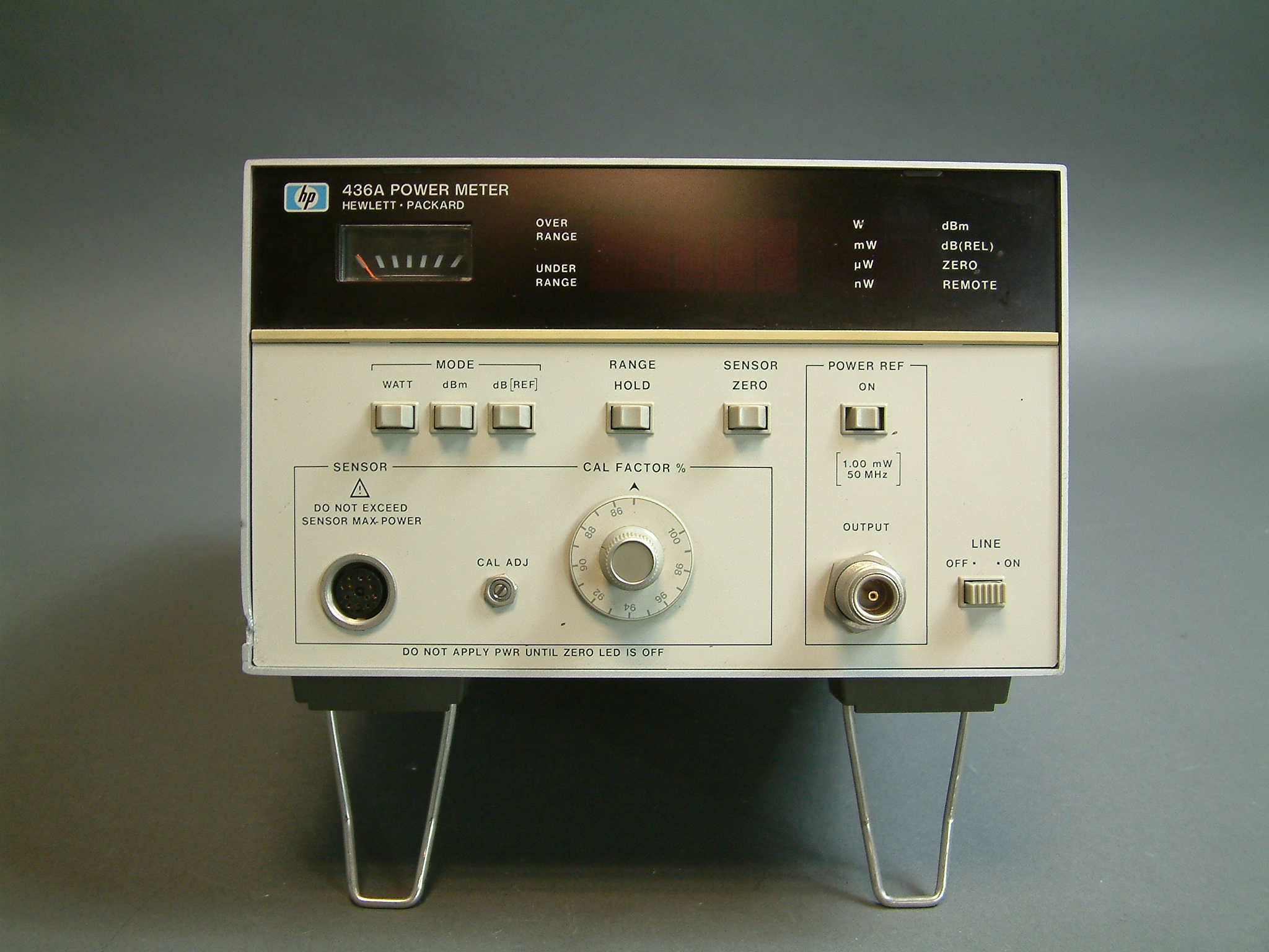 Tennessee Sales Tax Calculator >> Clean Good Used HP 436A Power Meter Option 022 to 18 gHz ...
