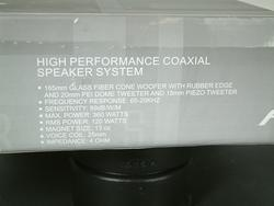 Almani Die Cast 6.5 inch 3 Way Speaker
