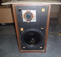 12 woofer 8 ohms drop in replacement for the large advent. Black Bedroom Furniture Sets. Home Design Ideas
