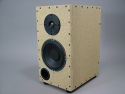 Working Tested Prototype of the 6.5inch Studio Monitor, You must build your own cabinets.