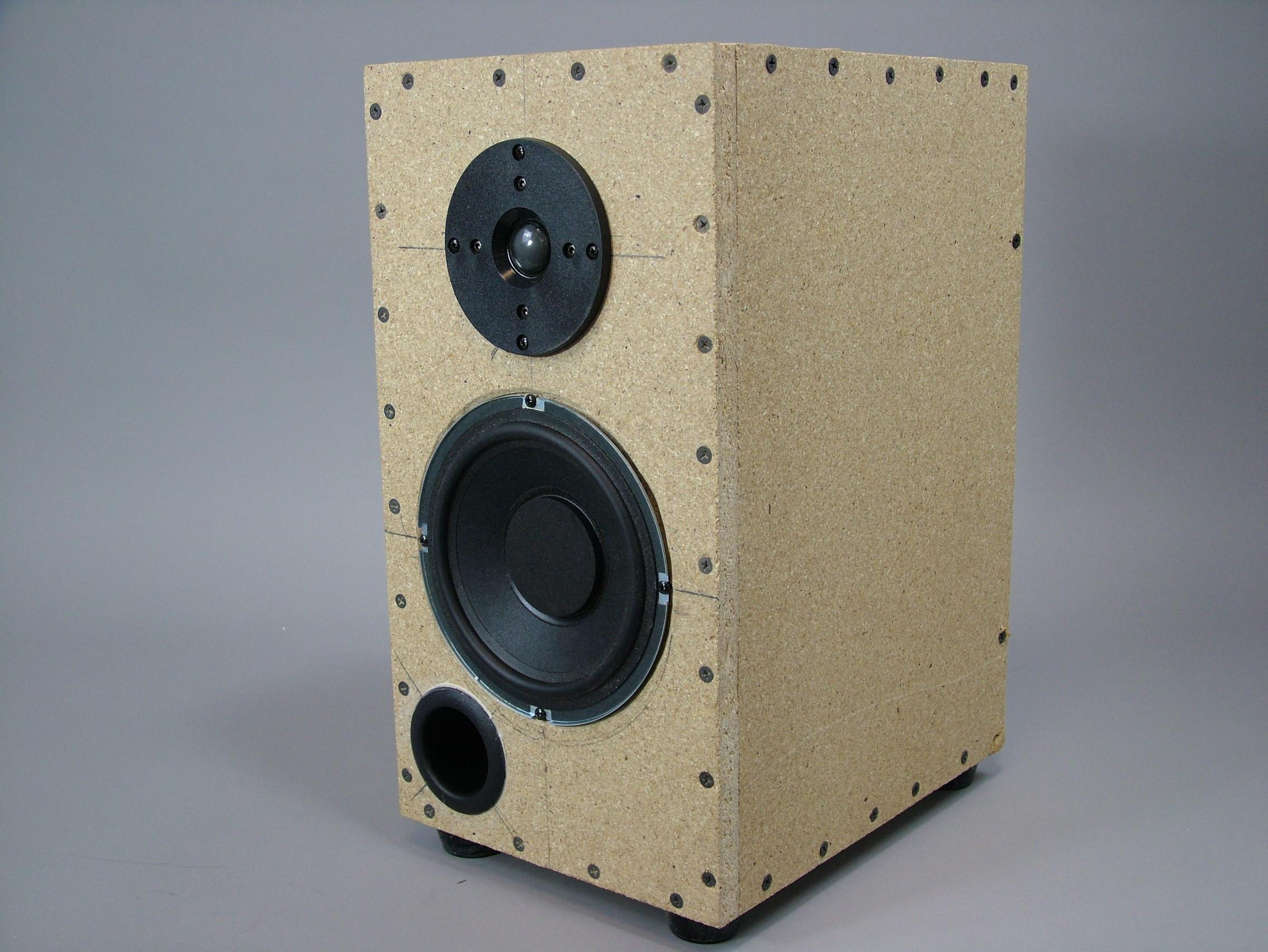 studio reference audiophile monitor 6 5 kit components plans 8 ohm 125 watts ebay. Black Bedroom Furniture Sets. Home Design Ideas