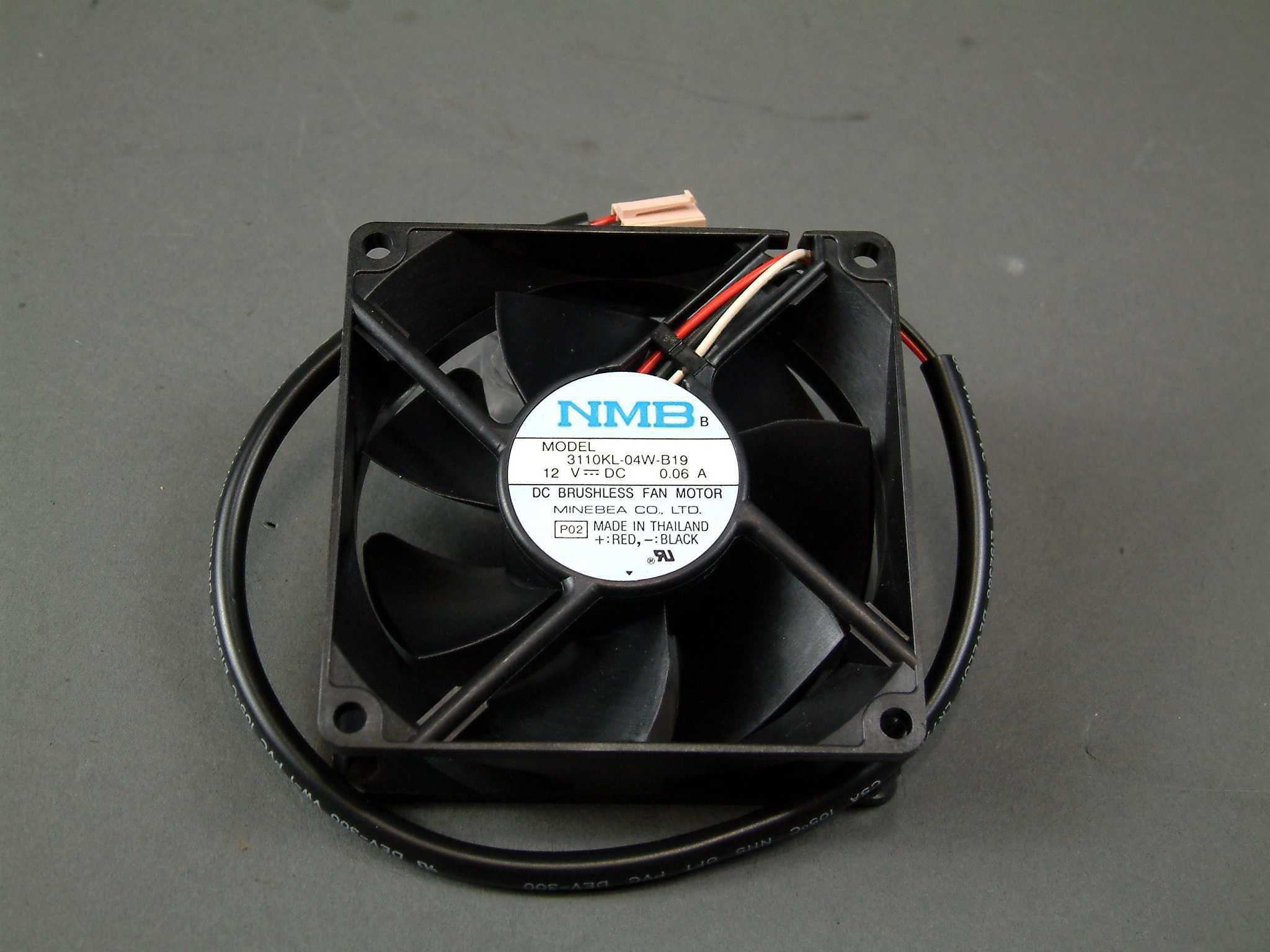 12V fan for NMB 8025 Case Fan 12V 3110FB-04W-B76 dual ball bearing large air volume 4-pin fan 8cm server cooling fan