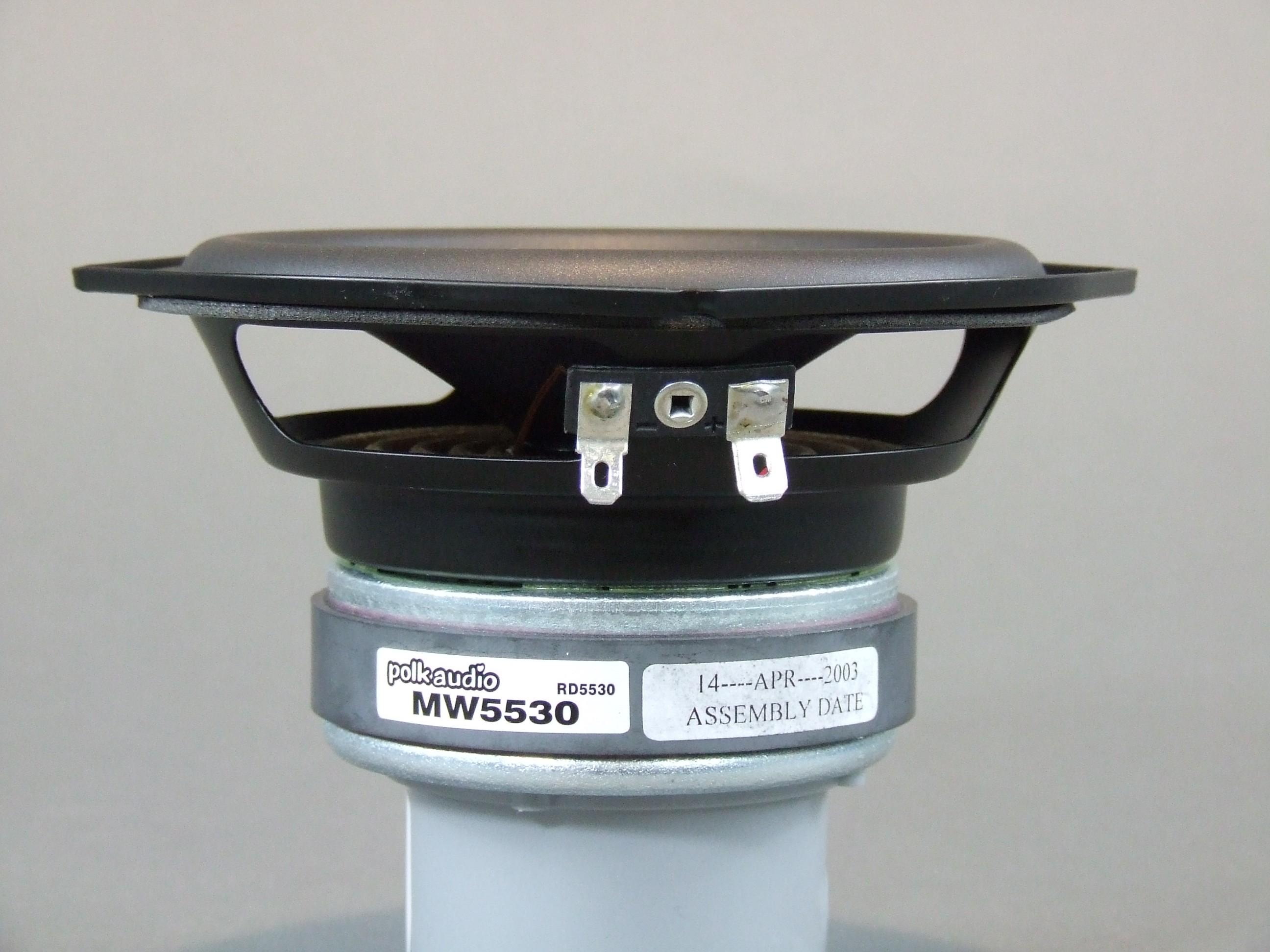 """4 ohms MW-5530 Woofers 5 1//4/""""  Major Brand New Pair"""