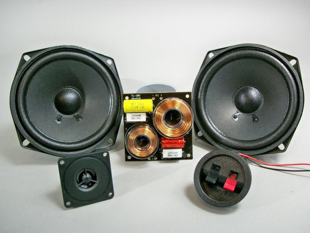 Домашняя акустика на автомобильных динамиках своими руками