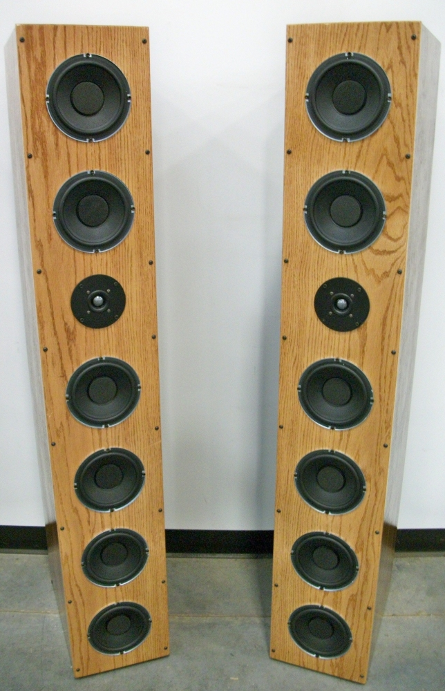 Ear Drum Amazing MAVIN 6 PACK   6 Woofer Tall Tower Design Kit Bass You  Have To Feel To Believe It Is That Amazing
