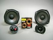 """Polk Audio 5 1/4"""" Center Channel Kit - Based on Polk 5 1/4"""" woofer"""
