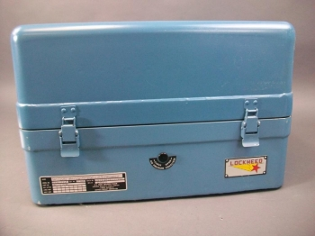 Vintage Blue Industrial Case - Really Neat!