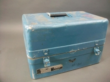 Cool Vintage Blue Industrial Case