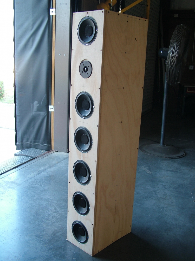 Ear Drum Amazing Mavin 6 Pack 6 Woofer Tall Tower Design