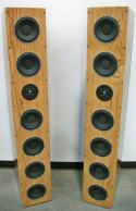 Ear Drum Amazing MAVIN 6 PACK - 6 Woofer Tall Tower Design Kit Bass you have to Feel to Believe It is that Amazing