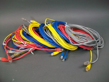Cat 5 Cable Assortment 20 Cable in 6 Different Lengths: 3,5,7,10,14 & 25 FT