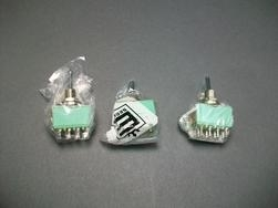 Lot of (3) Alcoswitch Push Button Switch MTSE-406N -New Old Stock