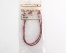 "ITT/Pomona 4274-24-2 Banana Plug Patch Cord Red 24"""