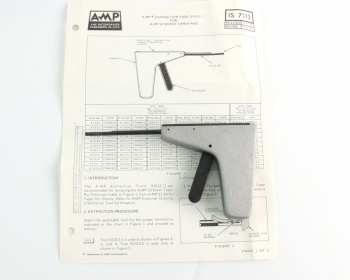 Amp Tyco 91012-2 Contact Removal Tool Taper Pin Extractor