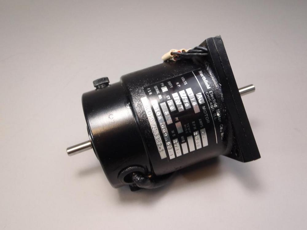 Northfield Electric Motor Co Ac Motor 006695851 115v 6105