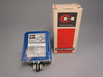 Cutler Hammer Time Delay Relay 7082KMOD1-6 4273 24VDC - New Old Stock