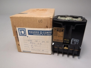 Square D Control Relay Class 8501 Type GD0-22 New Old stock