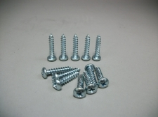 "Speaker Hardware Kit 12 Pack of # 10 x 1"" Sheet Metal Screws"