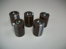 (5) Nichicon Snap In Aluminum Capacitors 1000uF 200 WV PK Series LPK2D102MHSC