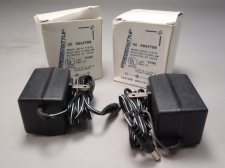 Lot of (2) Steroschuttle AC Adaptor 51-110-01 9V 100ma -New old Stock