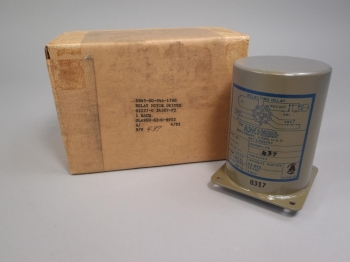 A.W. Haydon Time Delay Relay Motor Driven G24307-P2 5945-00-844-1790 New in Box