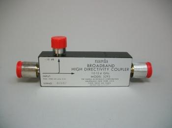 Narda Broadband High Directivity Coupler 5293 1.0 - 12.4 GHz -New Old Stock
