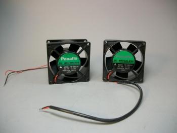 Lot of (2) Panaflo FBP-08B24H Brushless 24VDC Fans -New Old Stock