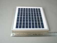 Poly Solar Panel EL(P)5 Industrial Quality 5w 18v - NEW