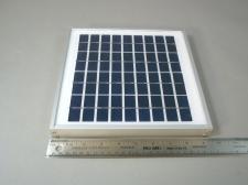 Poly Solar Panel EL(P)5 Industrial Quality 5w 18v - NEW