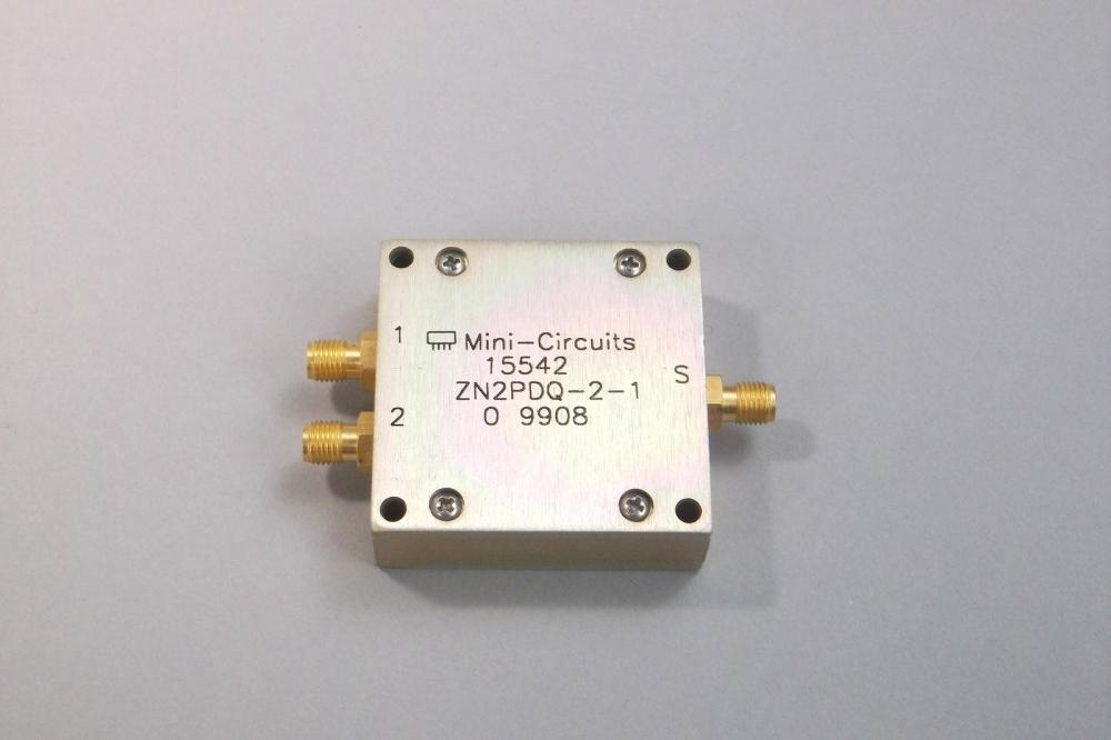 Mini-Circuits 2-Way Power Splitter SMA Female Connector ZN2PDQ-2-1 ...
