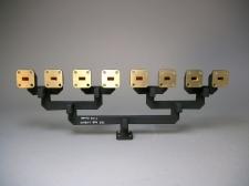 General Dynamics Microwave Waveguide 8 Port Splitter 26.5 - 40 GHz 111850-1 -New