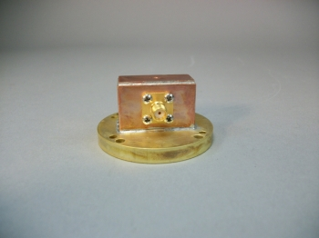 Waveguide to SMA Coaxial Adapter WR112 - New Old Stock