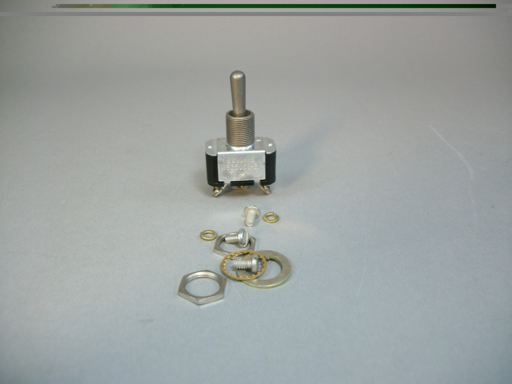Military Standard Aircraft Toggle Switch MS35058-21 5930-00-655-1513  8800K16 New | Mavin the Webstore