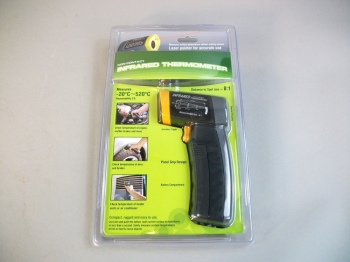 I.R. - Infrared High Temperature Thermometer -4º F to 968º F -20ºC to 520º -NEW