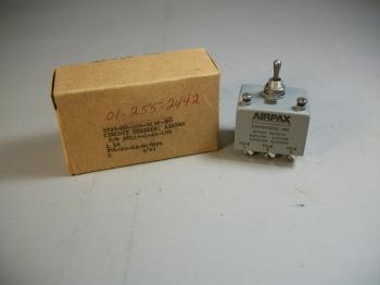 Airpax AP116-1-65-103 10A 240V 50/60Hz Circuit Breaker 5925-01-255-2442 - New