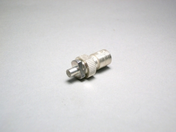 AMP Silver Plated Crimp Jack 2-329545-1 BNC RG-58 Connector - NEW