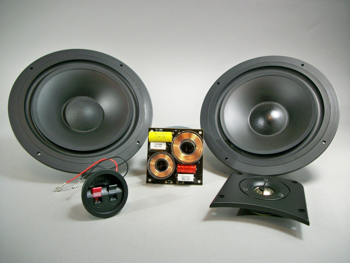 Dual 8 Two Way Speaker Kit Builds A Pair Of Speakers Mavin The Webstore