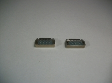 Microdot Micro Connectors 3489AS3417-10 Lof of 2 - New