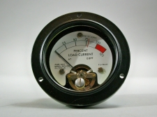 A&M Instrument Model 263-012 PN 200-10 Percent Power Gauge