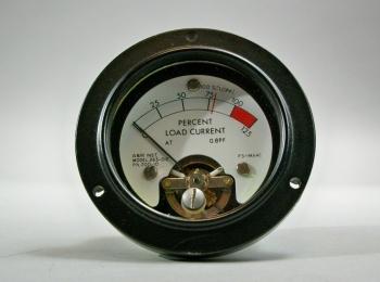 A&M Instrument Model 263-012 PN 200-10 Percent Power Gauge