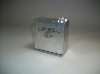 Schott Corp. Aircraft Transformer SM-A-915585 - New