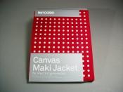 Incase iPad 3 Canvas Maki Jacket Polka Dot Red/White - New