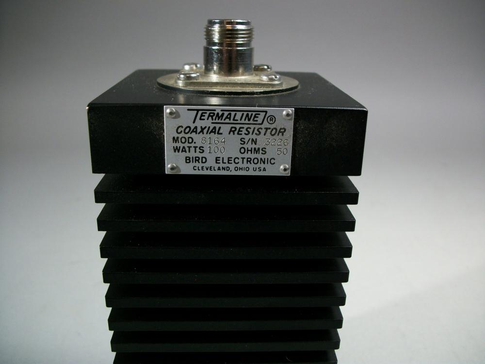 bird model 8164 termaline coaxial resistor 100 watt 50 ohms mavin