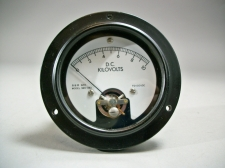 A&M 771116 DC Kilovolts Gauge Voltmeter 365-383 - New