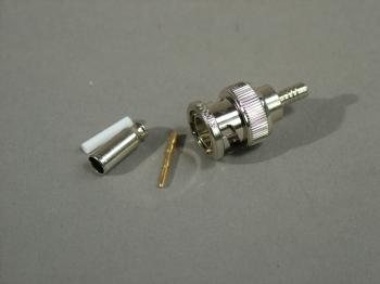 Amphenol 31-70013 BNC True 75 Ohm Impedance Plug RG179 RG187