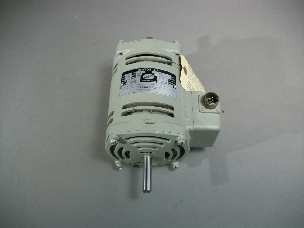 Lucas Western 406612 Alternating Current Motor 455tb10