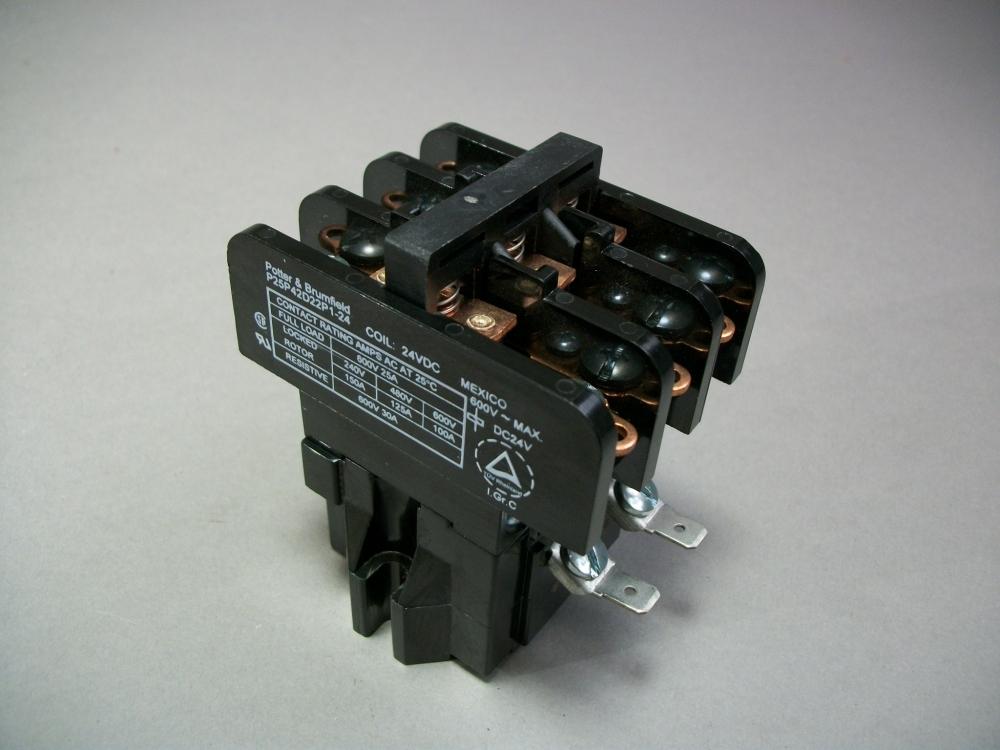 NIB Potter /& Brumfield Relay P//N PM-17AY-24 24V 1 HP 120//240 VAC 1 Phase