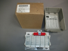 Western Electric Reliance Terminal Connecting Block Strip R66E3-25G Lot of 2 - New