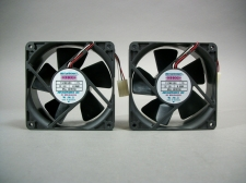 Mechatronics Lot of 2 F1238X12B1 Fan 12V 0.95 Amp - New